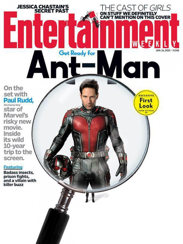 Ant-Man - Entertainment Weekly cover