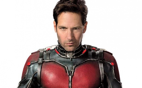 Ant-Man - Paul Rudd en uniforme