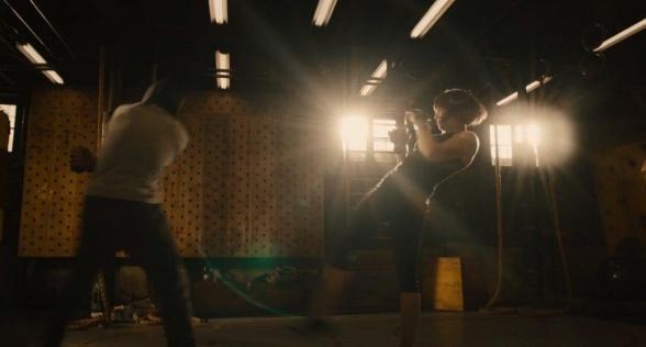 Ant Man Trailer Scott Lang y Hope Van Dyne entrenando
