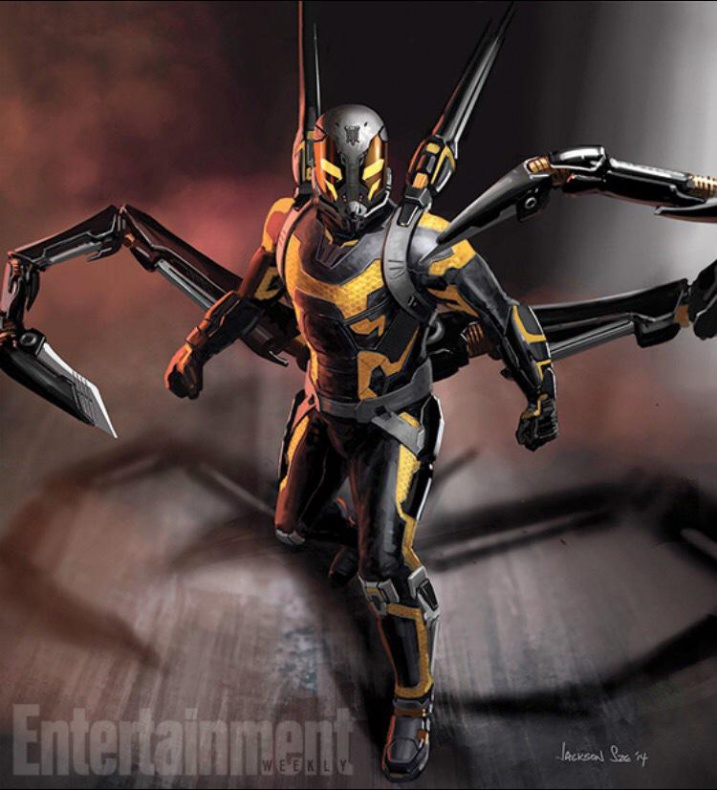 Ant Man Yellowjacket complete