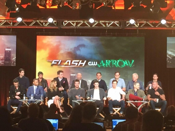 Arrow + The Flash - TCAs press conference