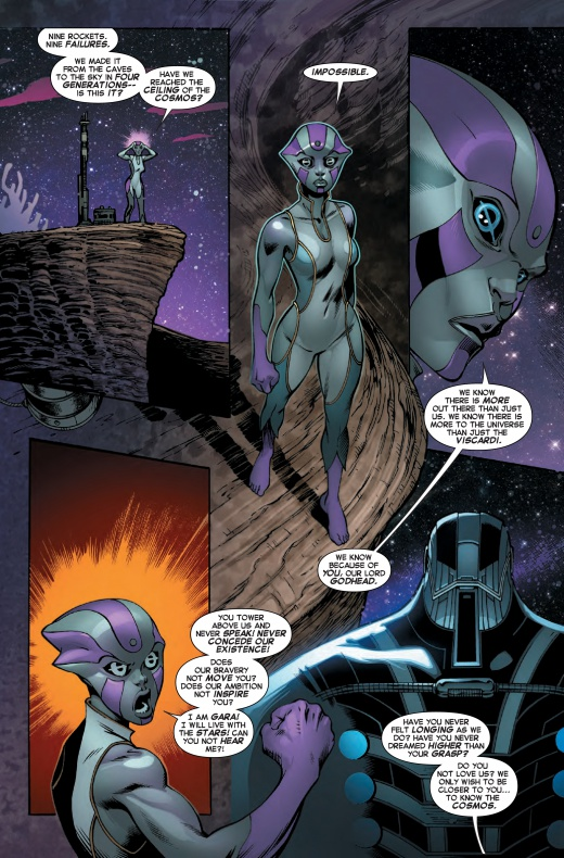 Página de Guardians of the Galaxy & X-Men The Black Vortex Alpha #1