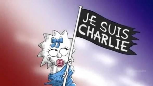 Los Simpsons Charlie Hebdo