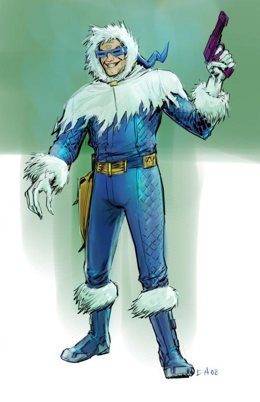 Justice League videogame Double Helix Captain Cold