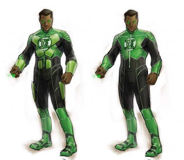Justice League videogame Double Helix Green Lantern