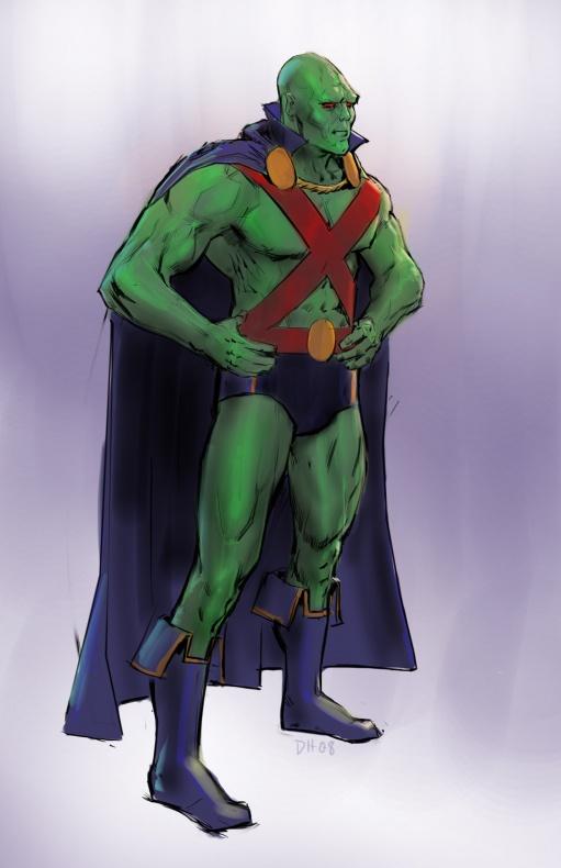 Justice League videogame Double Helix Martian Manhunter