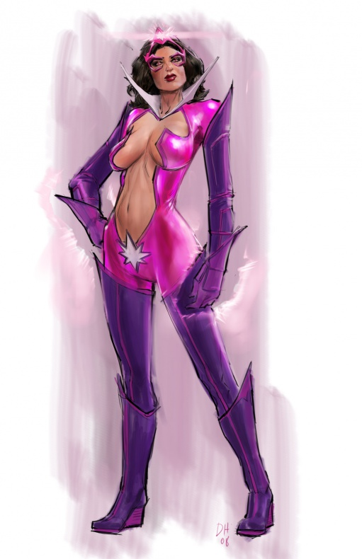 Justice League videogame Double Helix Star Sapphire