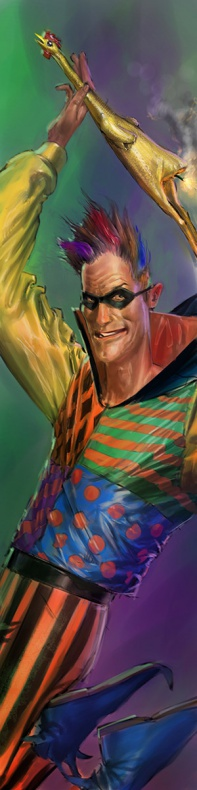 Justice League videogame Double Helix Trickster