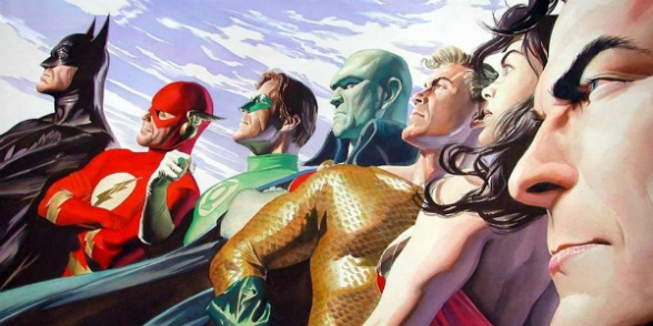 Justice League por Alex Ross