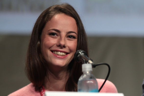 Kaya Scodelario en la Comic Con