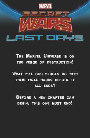 Secret Wars, Last Days