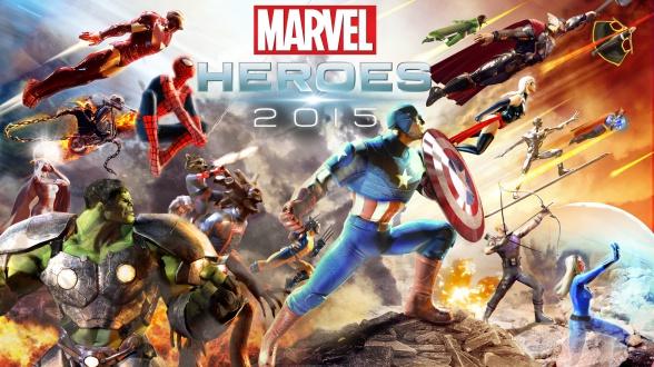 Marvel Heroes 2015 Portada