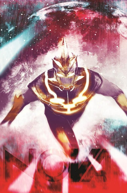 Nova 28 Variant Cover Cosmically Enhanced