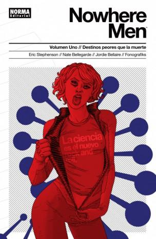 Nowhere Men Norma Editorial Image Comics Reseña