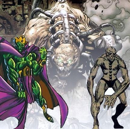 Personajes que legalmente no fueron incluídos en Guardianes de la Galaxia Badoon