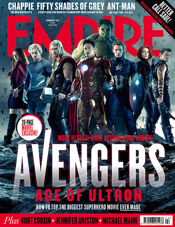 Portada de la Empire Magazine