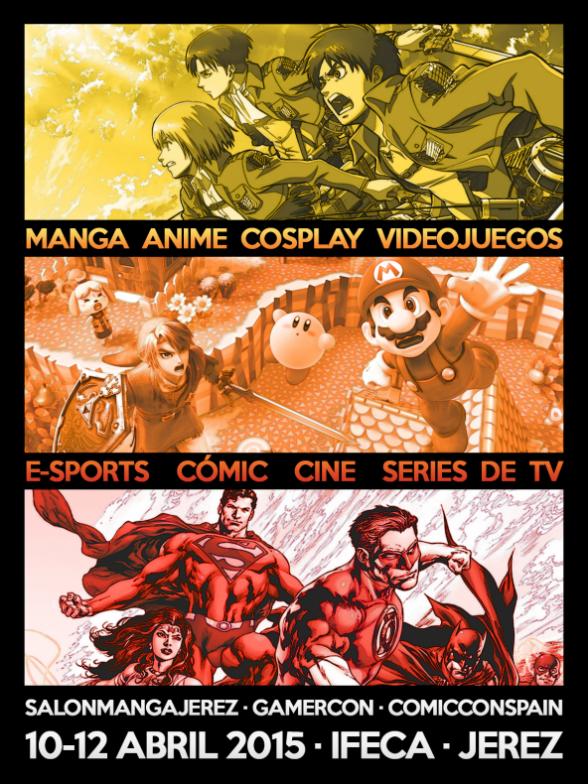 Salón Manga Jerez Comic Con GamerCon
