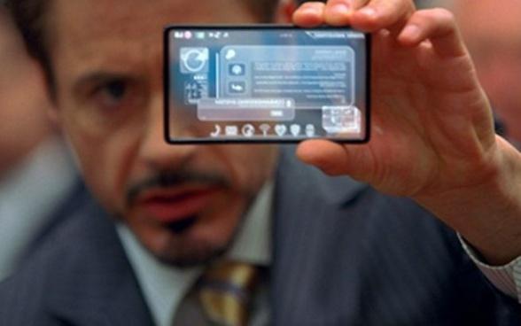 Samsung teléfono transparente - Vengadores la era de Ultrón 01