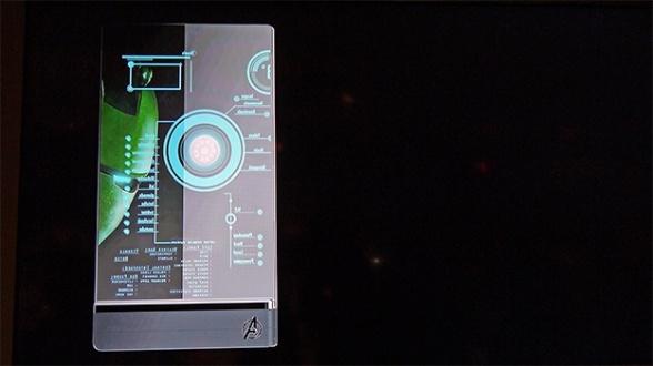 Samsung teléfono transparente Vengadores la era de Ultrón 05