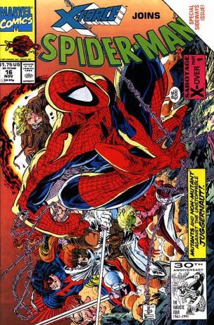 El número 16 del Spider-Man de Todd McFarlane