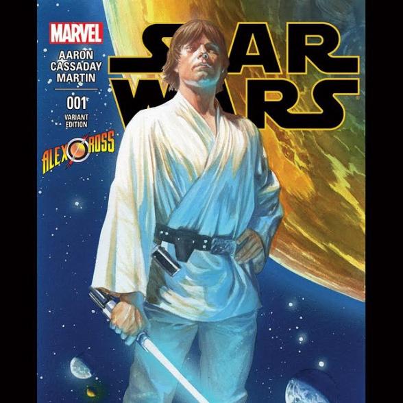 Portada Alex Ross Star Wars 1