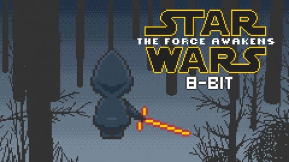 The force awakens versión 8-bit
