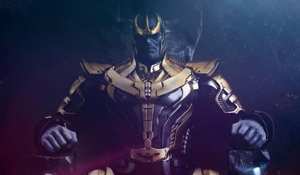 Thanos Hot Toys principal