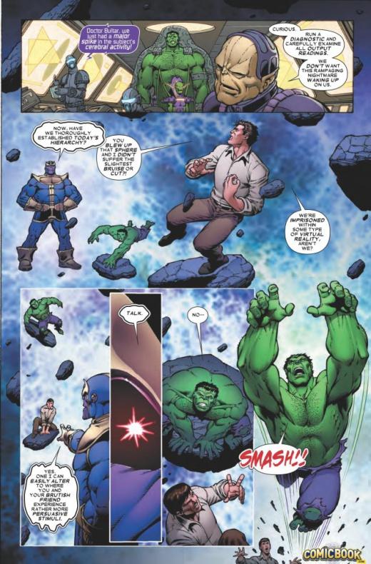 Thanos vs Hulk 3