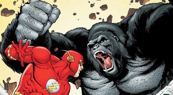The Flash vs Gorlla Grodd