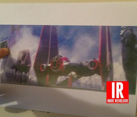 Tie Fighter Concept Art