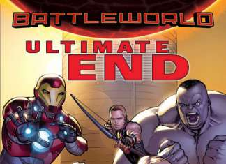 Ultimate End 1 - Portada alternativa por David Márquez