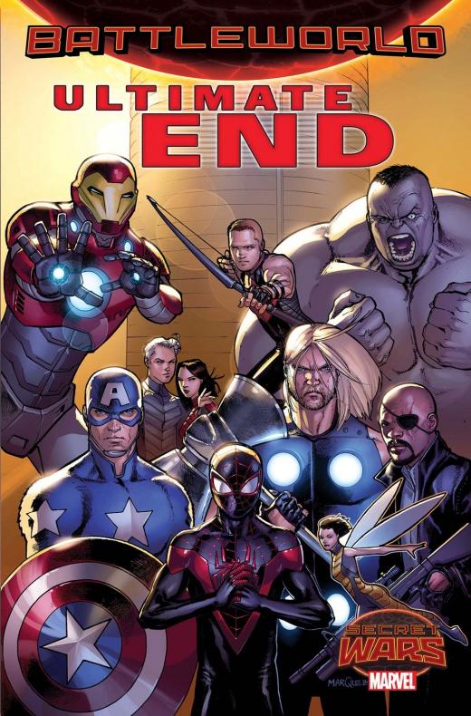 Ultimate End 1 - Portada alternativa por  David Márquez