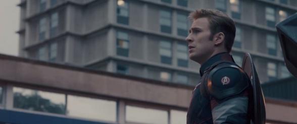 Vengadores la era de Ultrón - Capitán América