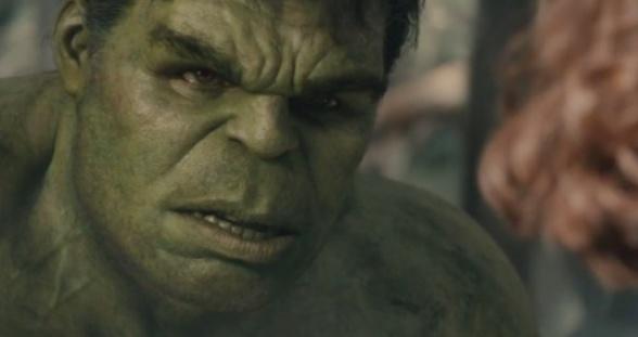 Vengadores la era de Ultrón - Hulk