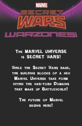 Comunicado Marvel Warzones - Secret Wars