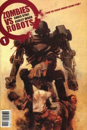 Zombies vs robots portada