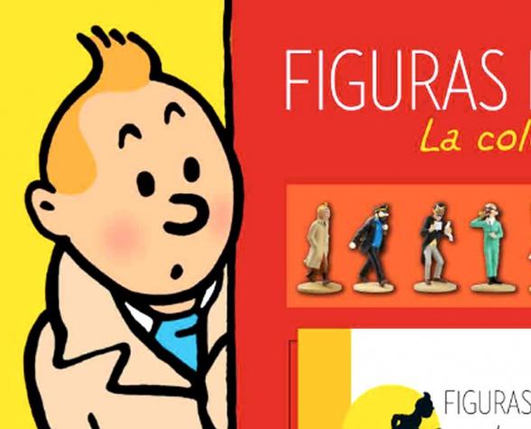 coleccionable Tintin cover