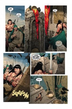 Conan y el pueblo del círculo negro