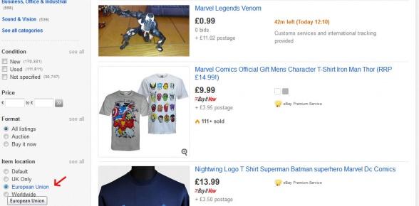 eBay Reino Unido