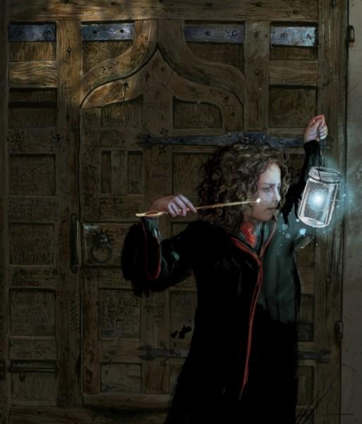 harry potter illustrado hermione granger