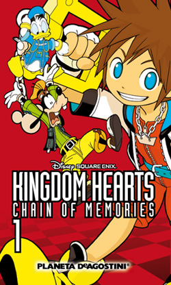 kingdom hearts chain of memories planeta