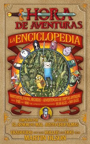 la enciclopedia de hora de aventuras norma editorial reseña