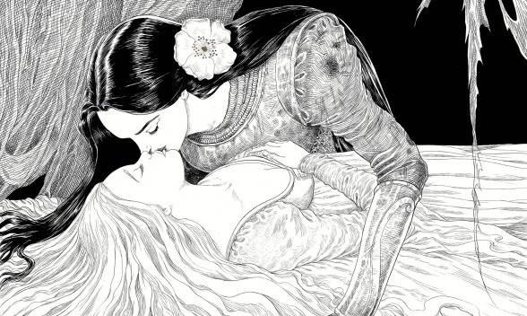 la joven durmiente y el huso neil gaiman