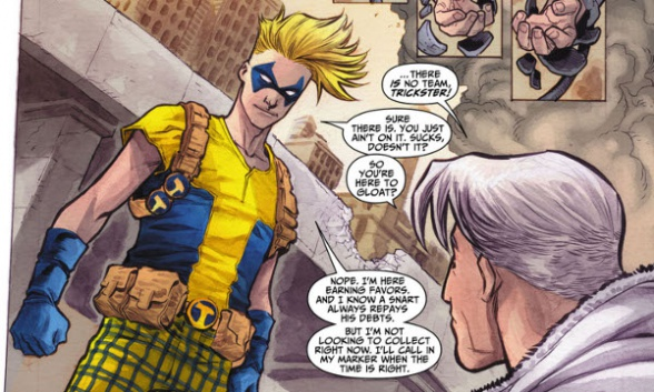 the flash new 52 trickster