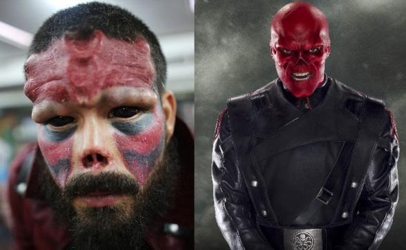 Henry Damon - Cráneo Rojo