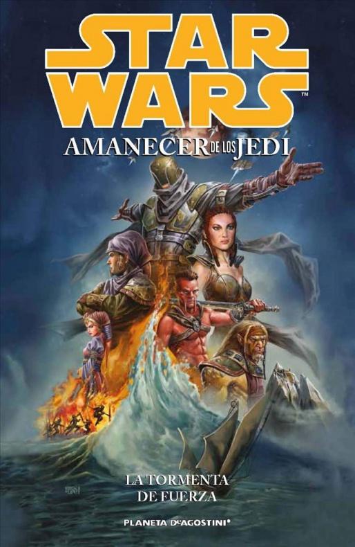 Amanecer de los Jedi 1