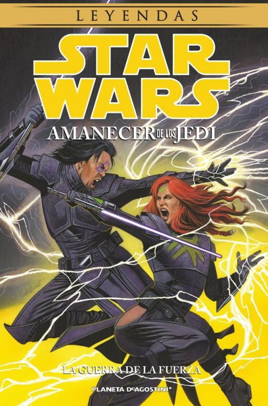 Amanecer de los Jedi 3