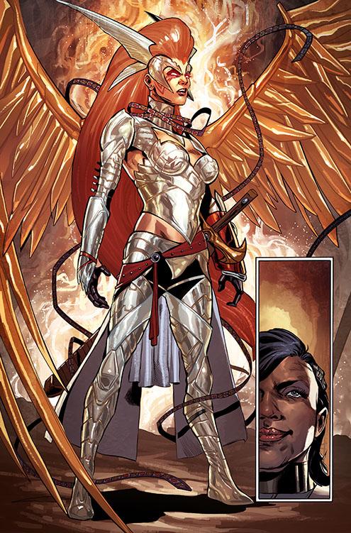 Angela Asesina de Asgard nuevo traje