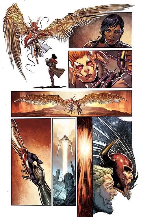 Angela Asesina de Asgard nuevo traje02