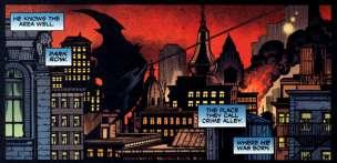 El cielo arde en Gotham
